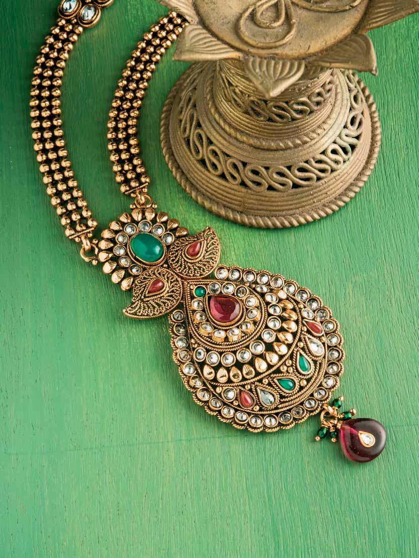 Alchemy Elaborate and ornate jewellery have been part of Indian culture for far too long. These intricate styles have even left their mark in the global space.