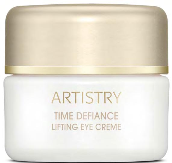 TIME DEFIANCE Lifting Eye Creme Use twice daily after cleansing &