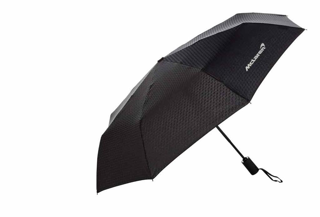 Telescopic Umbrella Because it is so lightweight and compact this is the perfect item to keep handy in your car or bag for when the weather turns. Just press the button and it pops up instantly.