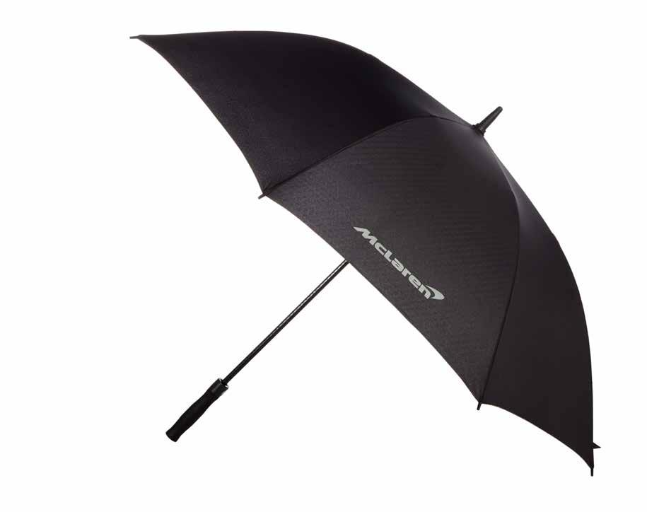 Golf Umbrella Big, strong and built for storms, this umbrella will do the job whether you re out on the golf course or standing in the pitlane.