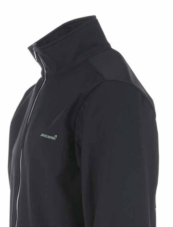 Softshell Jacket Essential gear for the exposed pit lane or the windy hill trail, this is one tough yet lightweight jacket made from fully breathable, windproof and waterrepellent exterior material.