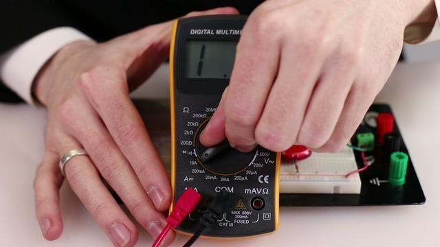 Measuring current can be a little trickier than measuring voltage or resistance because we need to send the electrical signal through our multimeter and it can only handle up to a certain amount of