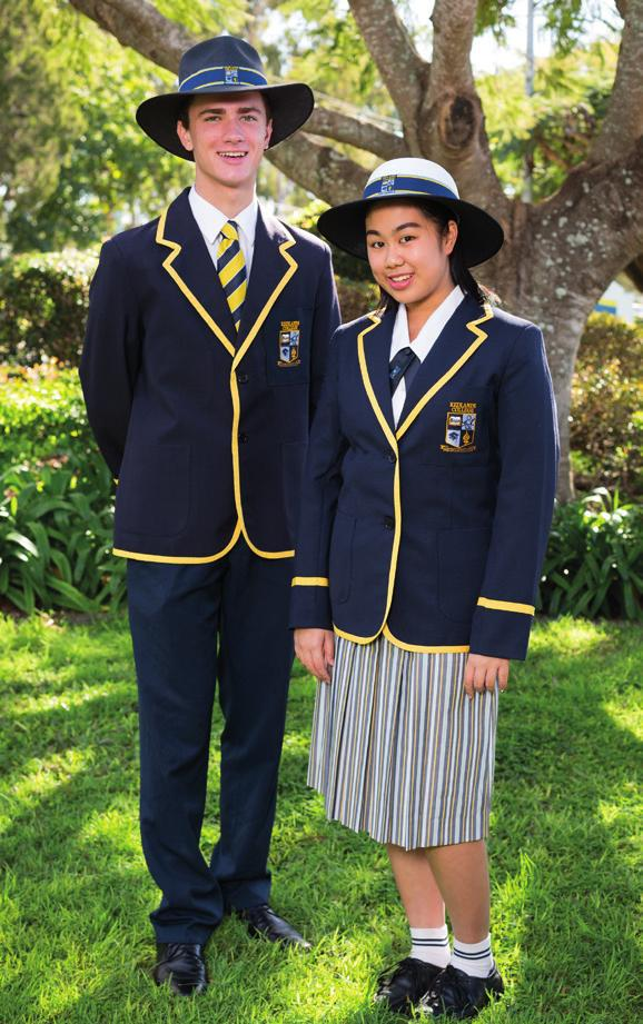 Senior tie, trousers and blazer compulsory in Term 2 and 3, and for designated events.