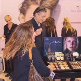 BEAUTY MAKE-UP 2018 EXHIBITOR STATEMENTS MALU WILZ, OWNER, Y/OUR SKINCARE / MAKE-UP M.-L. WILZ-MELGAARD E.K. BEAUTY 2017 was a very successful trade fair for us with a high share of professional visitors.