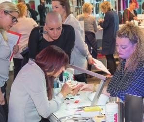 trade stands 24 th Swiss Nail-Design championship and 10 th Swiss NailArt Trophy VISITOR PROMOTION The specialist field Nail will be comprehensively and selectively promoted: editorial reports