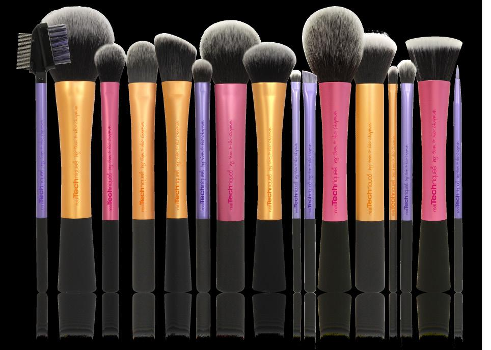 high-tech materials + innovative designs make creating a pixel-perfect look easier than ever: Synthetic bristles are ultra plush and smoother than the hair you ll find in other brushes.