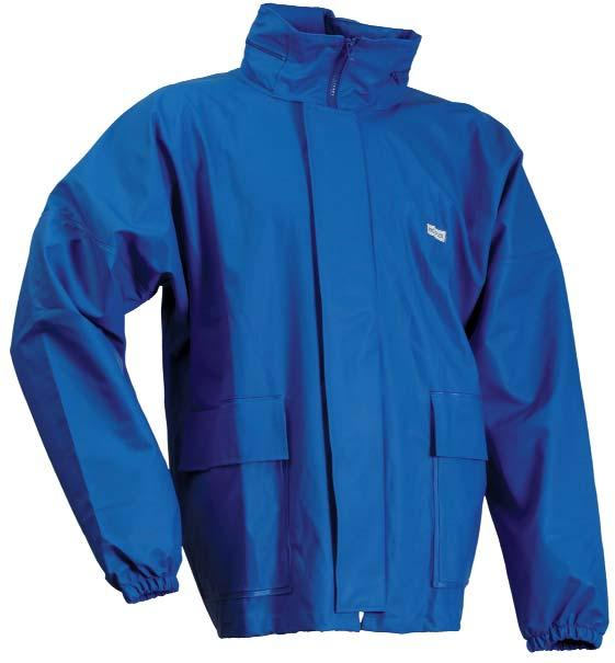 Conforms to: EN343 & EN13034 S 3XL Product Code: PJK110RW - Royal Blue 96 MICROFLEX WINTER JACKET - LR676 High frequency welded seams. Detachable quilted lining in body and sleeves.