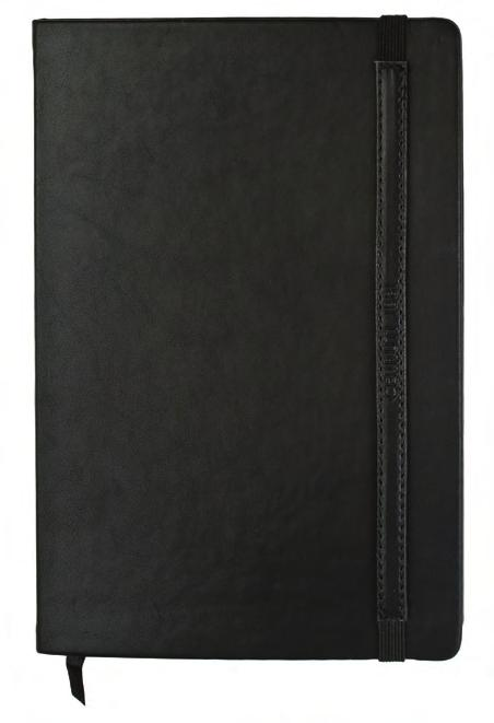 Size: 150 x 108 x 17mm C2003 Notebook Black A5 80 pages