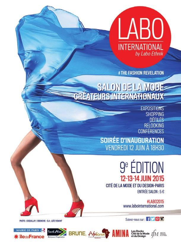 LABO INTERNATIONAL by Labo Ethnik # THE FASHION REVELATION www.labointernational.com Art director: Loïc Venant, www.