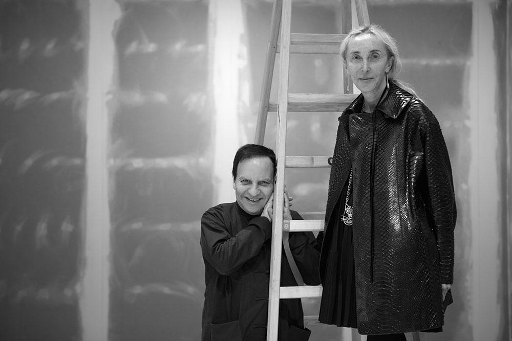 CULTURE NOVEMBER 11, 2016 Carla Sozzani, The History of an Eye by EMANUELE COCCIA Carla Sozzani and Azzedine Alaïa.