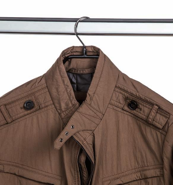 Men Coats and jackets Outerwear MAWA Bodyform 42/L L for load. Coats and jackets, particularly leather jackets, can be fairly heavy.