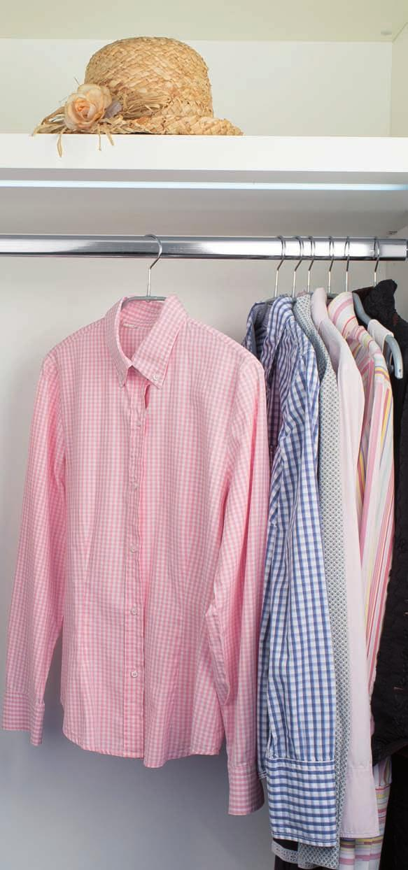 ... they d choose MAWA. Picture yourself opening your wardrobe. What do you see? Shirts and blouses squashed onto ordinary hangers from the cleaners?