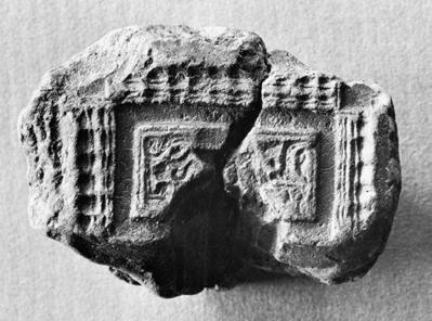 For instance, whereas there are hundreds of moulds for relief brooches, mostly the square-headed type, from Helgö there are only five certain and three uncertain fragments from Bäckby (Fig.5).
