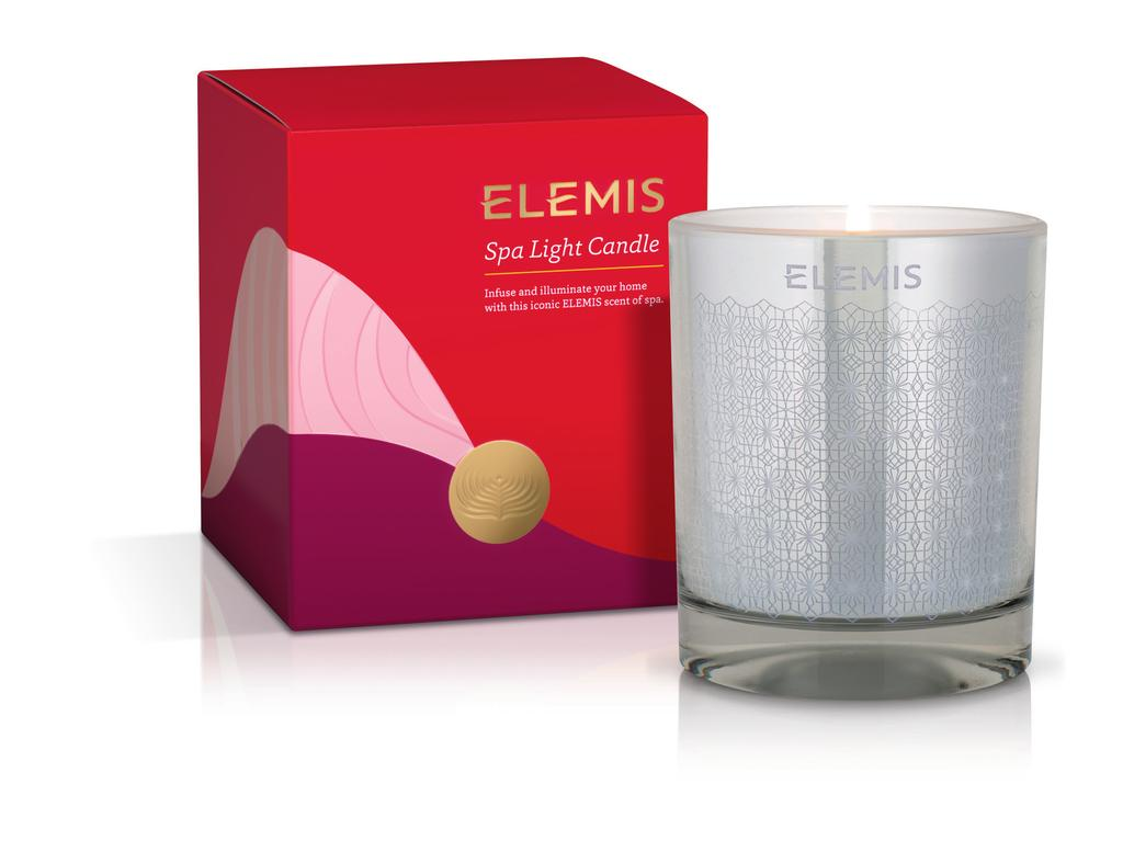 spa light candle Infuse and illuminate your home with this iconic Elemis scent of spa.