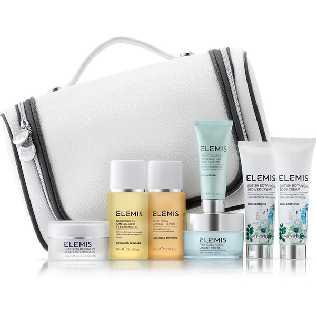 Elemis Kit Luxury Skin and Body Traveller Collection PRICE GHS500.00 Refresh and rejuvenate your skin with this Luxury Skin and Body Traveller Collection Kit from Elemis.