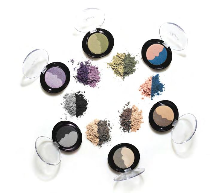 393 394 Beach / 395 Night Sky / 396 Ocean / 397 Sand Dune / 398 Waterfall / 399 Forest Perfect Sheer Colour 390 Great Colour Application Our aloe-inspired, silky powder blush