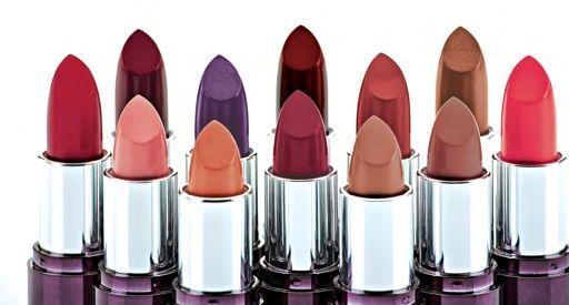 12 shades, from sheer to dramatic, delicately flavoured with delicious