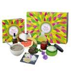 Learn to make your own hair care products with this kit including a book of recipes, 100% natural and effective,