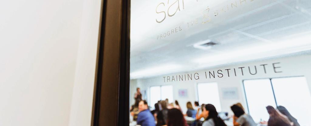 Sanitas Skincare SANITAS SKINCARE TRAINING INSTITUTE The Sanitas Skincare Training Institute teaches that healthy, beautiful skin is the result of the right balance of stimulation and nourishment.