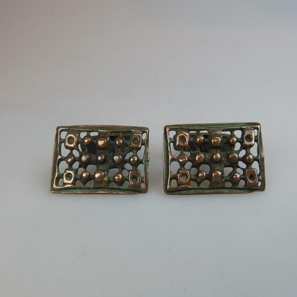 Gilt $80 100 22 Pair Of Georg Jensen Danish Sterling Silver