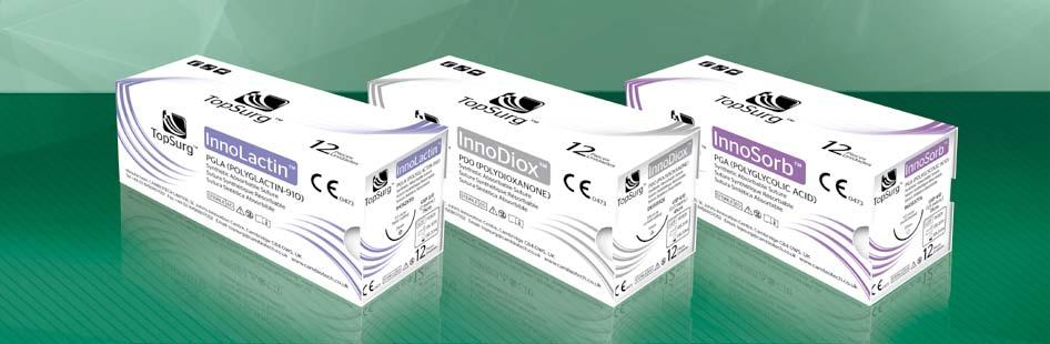 TopSurg TM is a brand of Premium Quality Surgical Sutures suitable for all branches of surgery including cardiovascular surgery, microsurgery and ophthalmology.