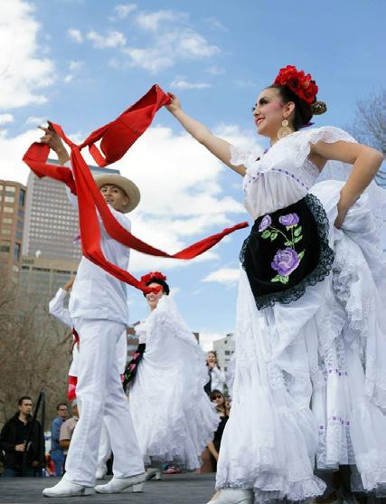 may wednesday 3 Performances celebrating Cinco de Mayo Presented by the Colorado Folk Arts Council and Metropolitan State University of Denver Noon - 1 p.m. Aurora Fox Arts Center 9900 E. Colfax Ave.