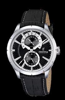 32 Watches for him 14% FESTINA Men s Watch Stainless Steel Case Brown Leather Strap This handsome wristwatch ascends to greatness with sub-dials