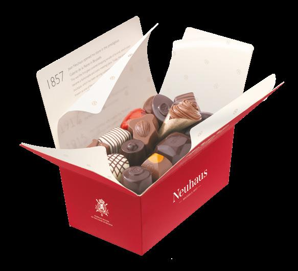 40 Taste Belgium The Neuhaus history Neuhaus, the inventor of the praline,