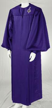 All Hoffman Brothers robes feature fully pressed front pleats for a crisp, clean tailored appearance.