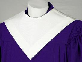 Your new robe may be worn with or without a stole.