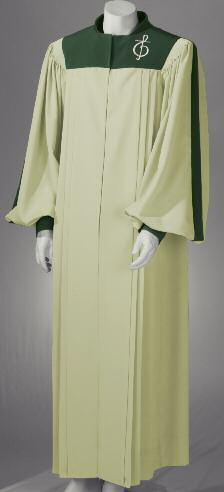 All Hoffman Brothers robes feature fully pressed front pleats for a crisp, clean appearance.