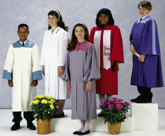 C 133 VNOS C 111 VNOS C 118 NCPS C 211 VNOS C 121 VNOS Young Adult and Youth style robes may be made in sizes up