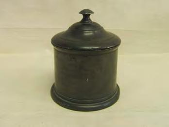 An Antique Pewter Tobacco Jar.