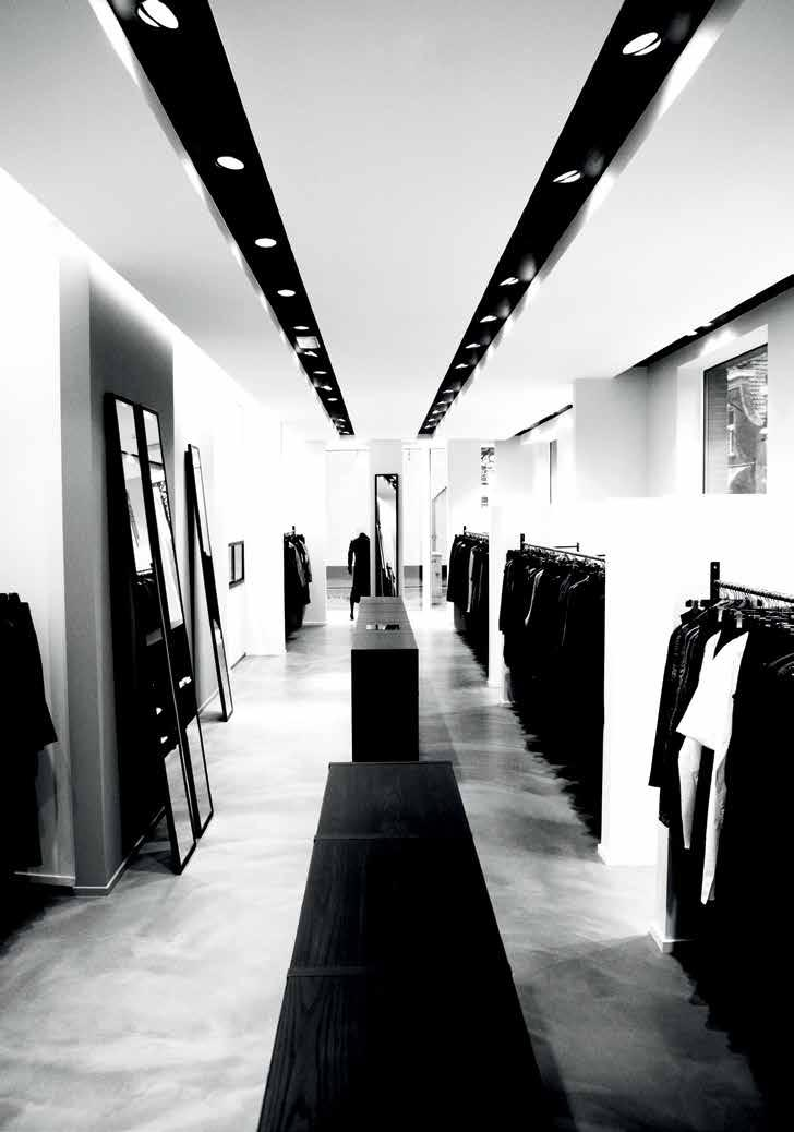 BRAND PRESENTATION 10 EXCLUSIVE BOUTIQUE CONCEPT SHOP-IN-SHOPS HARMONY AND MODERNITY DEFINE