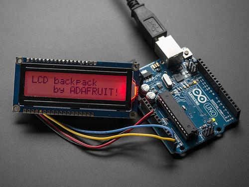 i2c/spi LCD Backpack Created by lady ada