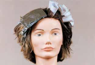 natural pigmented hair, while tone on tone covers all of the gray hair utilizing two different colors.