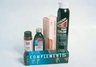 Caution must be exercised when utilizing a semipermanent haircolor on porous hair; it can stain the hair permanently.