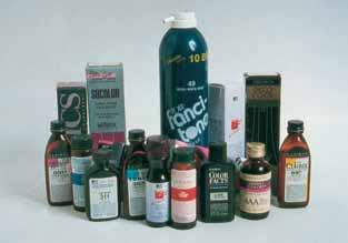 5 Permanent (lift/deposit) haircolors are available in a variety of forms: Gels, liquids and creams. They are packaged in tubes, as well as bottles.