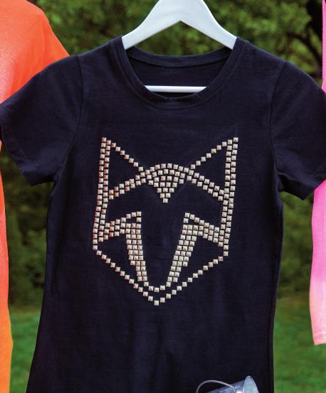 #8 GEM ME UP You have the right to remain fabulous and this rock-star tank will get you there.