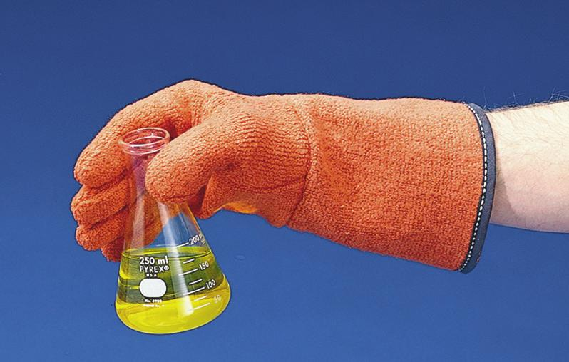 59/pr CLAVIES BIOHAZARD AUTOCLAVE GLOVES Soft, pliant, all-cotton terry cloth Clavies Gloves
