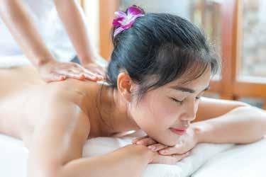 SPORT MASSAGE 60 minutes THB 1,500 / 90minutes THB 1,875 This unique deep tissue massage is designed especially to relief sore muscles on your request and to bring back your energy.