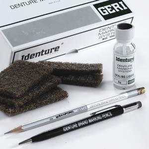 5 oz 1 Each Denture Brush Large multi-tufted brush head helps to easily remove food particles and stains.