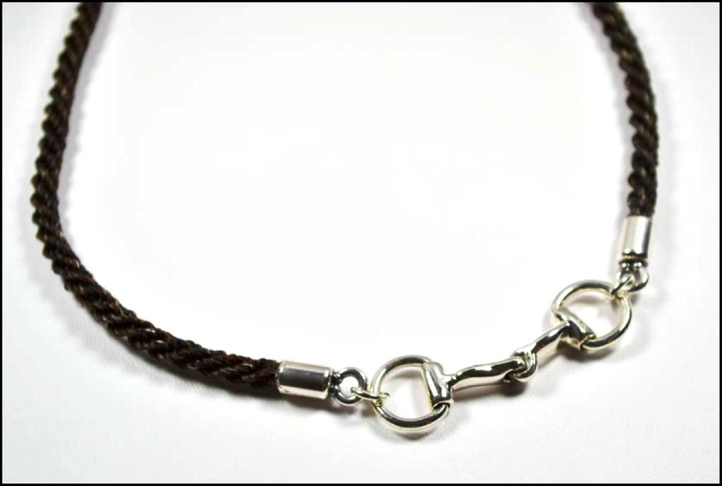 There is a two inch adjustment chain at the clasp to give you the perfect necklace length.