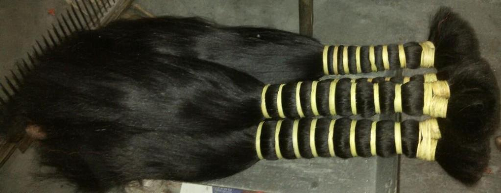 It is made ready to work on Hair extension at factory.
