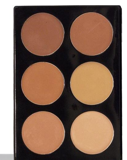 DUAL FINISH WET/DRY MINERAL FOUNDATION VINYL PALETTES A beautiful assortment of dual/wet dry pressed