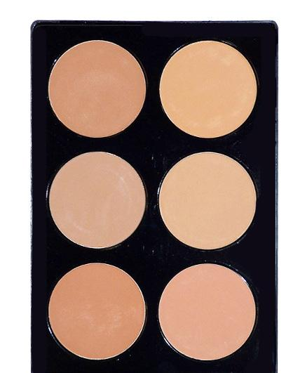 Can be used as a lighter coverage foundation or finishing powder.