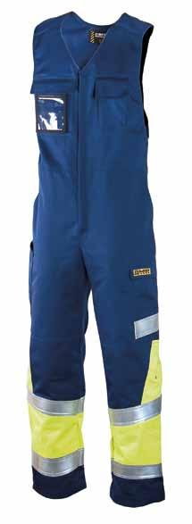 TROUSERS 658 DIMEX MULTINORM 50% 50% cotton 49% 49% polyester, 1% antistatic fibre, 345 g/m² The material is tested against the thermal hazards of an electric arc IEC 61482-1-2.