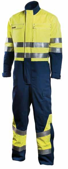 NEW DIMEX MULTINORM MULTI SUMMER COVERALL 660 50% cotton, 49% polyester, 1% antistatic fibre, 345 g/m² Material tested against the thermal hazards of an electric arc IEC 61482-1-2.