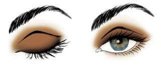 Try this easy eye look for any eye shape.