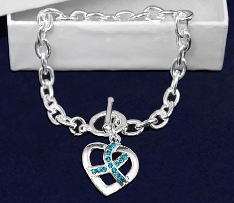 Comes in optional gift box. (B-02-3) Size: 8.5 in. Qty: 18/pkg. Keep The Faith Bracelet.